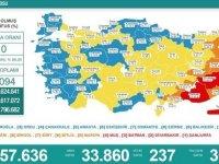 Türkiye'de 33 bin 860 kişinin testi pozitif çıktı, 237 kişi hayatını kaybetti