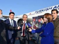 Türkiye'nin gönderdiği Kovid-19 aşı ve ilaçları Özbekistan'a ulaştı