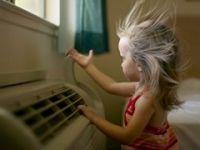 Astım hastası çocuk klimadan uzak dursun!