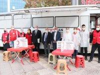 Samsun'da başlatılan kampanyada yaklaşık 3 bin 500 ünite kan bağışına ulaşıldı