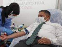 Çankaya Kaymakamlığı kan bağışı kampanyası düzenledi