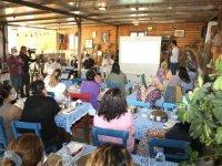 Mersin'de kadın üreticilere yönelik iş sağlığı ve güvenliği eğitimi verildi