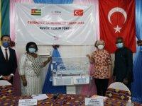 TİKA'dan Togo'da bir hastaneye kuvöz desteği
