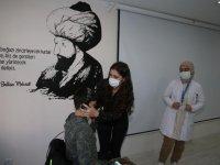 Tokat'ta öğrenciler sağlık taramasından geçiriliyor