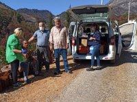 Manavgat'taki afetzedeler sağlık taramasından geçirildi
