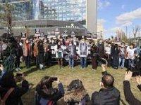 Başkentte hekimlerden nöbet saatlerinin kısaltılması için protesto