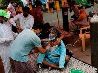 Hindistan'da Kovid-19 vaka sayısı son ayların en düşük seviyesinde