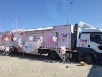 Adana'da geçici barınma merkezinde kalan Suriyeli kadınlara kanser taraması yapıldı