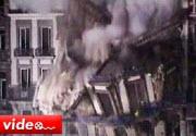 Belçika'da bina çöktü