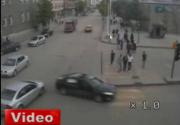 Kaza anları MOBESE'de