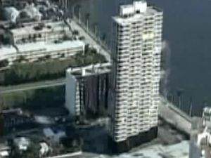 30 Katlı bina 8 saniyede yerle bir oldu