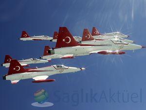 Türk Yıldızları'nı bir de böyle izleyin
