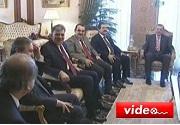 Cumhurbaşkanı Gül, Başkanları kabul etti